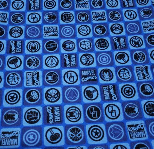 Logos on Blue