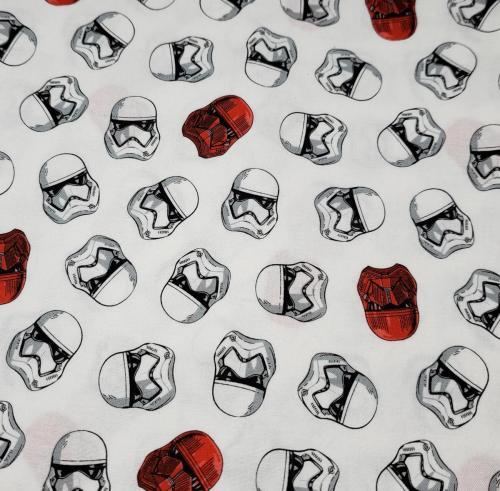 Stormtrooper Heads on White
