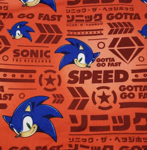 Sonic on Red