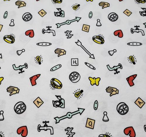 Hasbro Icons on White