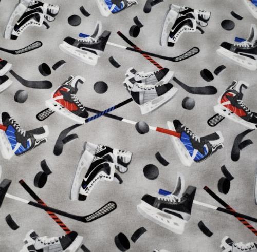 Gray Hockey Toss