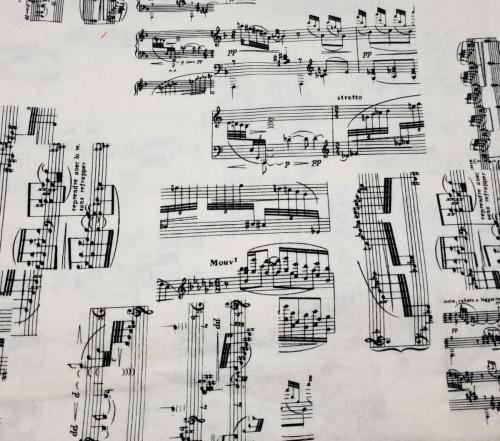 Sheet Music Toss