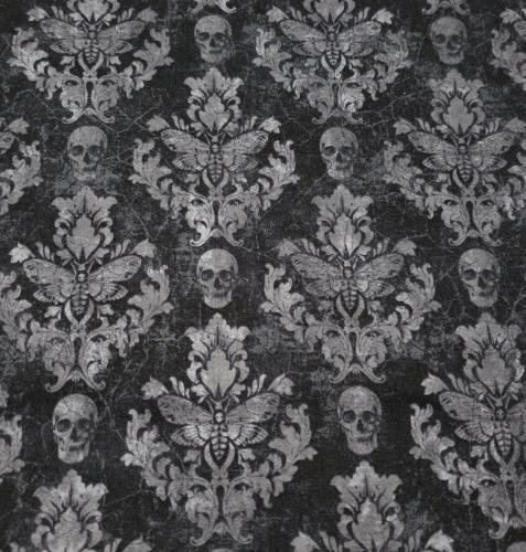 Skull Damask