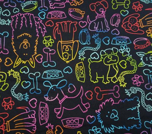 Neon Dogs