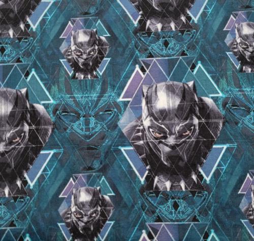 Black Panther on Teal