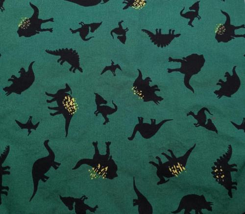 Black on Green Dinos