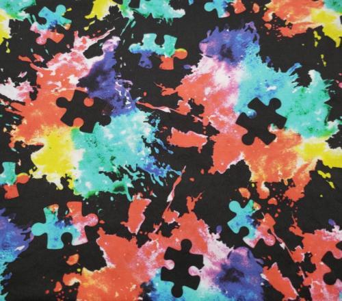 Autism Paint Splatter