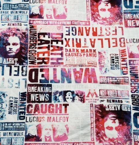 Bellatrix Newsprint