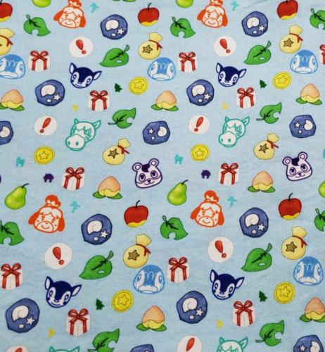 Animal Crossing on Blue