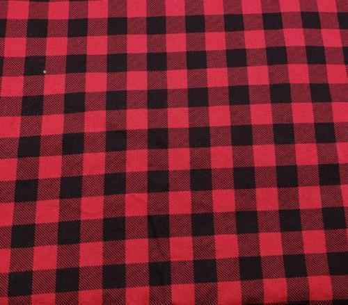 Simple Plaid - Red